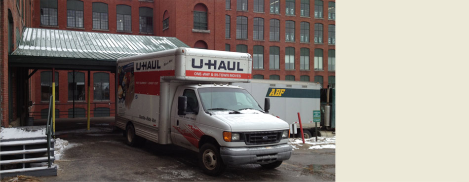 U-Haul it…. We have room to store it!